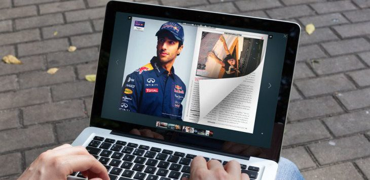 How to create a page turning PDF on the laptop with a page flip effect