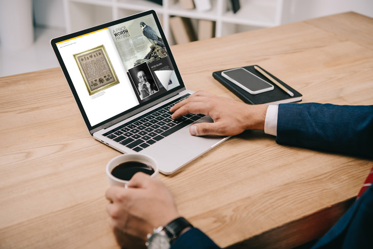 How to create a page turning PDF with a flip effect on the laptop